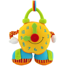 Cartoon Puzzle Alarm Bell Pull Shock Baby Comfort Plush Doll(China)
