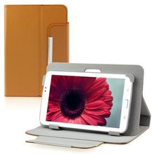 "Del Universal 7"" Leather Stand Case Folio Cover For 7'' 7 inch Android Tablet PC MID Feb26"