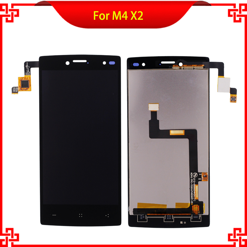 10PC/Lot LCD DisplayTouchPanel For M4 X2 1212-0500054HZX FPC-T050UFH609NT-V04 MobilePhoneScreen TRUST CT050SG271-00 3030-0500214<br>
