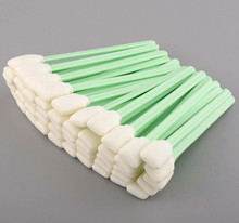 Free shipping - 100 pcs cleaning swabs foam used for clean the solvent and eco solvent printers(China)
