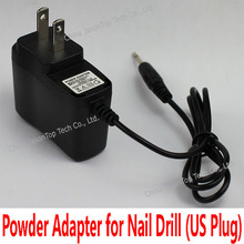 9V US Plug Power Adapter for Electric Nail Drill UV Gel Remover Machine Nail Art Manicure Pedicure Cuticle Removing Tool AC DC