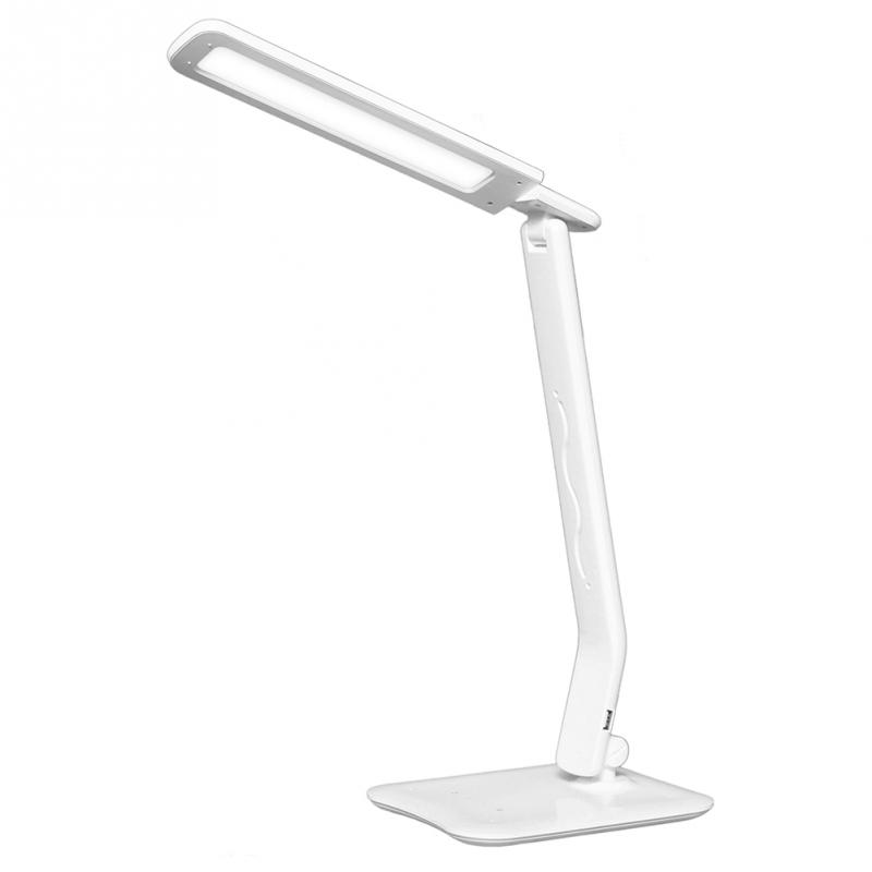 LED Lamp USB Touch Folding Large Table Lamp Dimmable LED Desk Lamp 4 Lighting Dimmer Touch-Sensitive Control Panel Auto Timer<br><br>Aliexpress