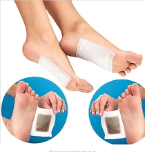 Retail box 10pcs Cleansing Detox Foot Kinoki Pads Cleanse & Energize Your Body free shipping