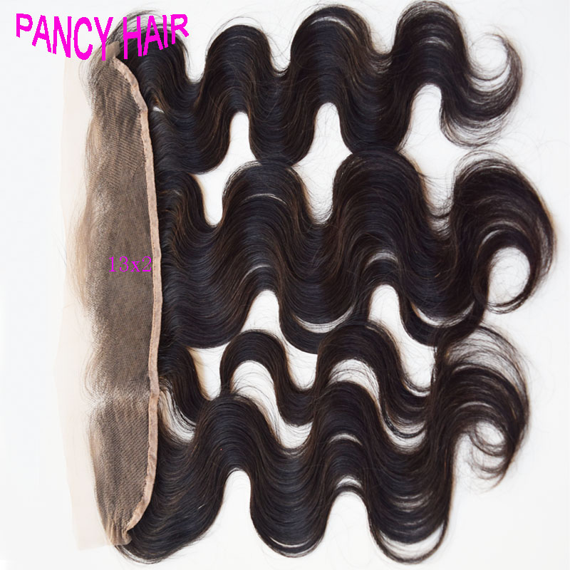 Brazilian Virgin Hair Lace Frontal Closure 13x2 Bleached Knots Virgin Frontal Piece Body Wave Full Lace Frontal Brazilian Wavy<br><br>Aliexpress