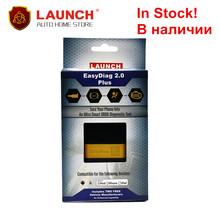 In Stock! Two Free Software! 100% Original Launch X431 Easydiag 2.0 PLUS android&IOS Fast Shipping