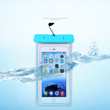 For Yota Yotaphone 2 Mobile phone waterproof bag for OPPO R7 for ipone 6plus for s7 edge for Yotaphone 2 diving general cases(China)