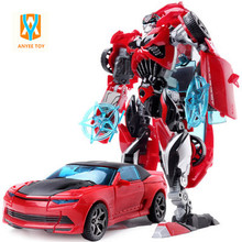 HOT!!! Transformation Robot Cars Toys Cool Classic Toys Anime action figures Toys Deformation Kid Toys Christmas Gifts(China)