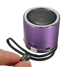 Portable Mini Speaker Amplifier FM Radio USB Micro SD TF Card MP3 Player