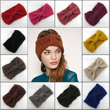winter adult crochet knitted headbands for hair head band turban headband head wrap turbante accessories women bands ribbon 2015