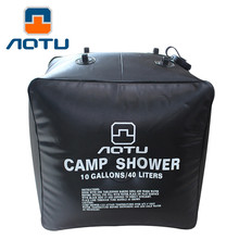 2017 Outdoor Camping Solar Shower Bags 40L Portable Water Bag Outdoor Bath send the product at random body scrub