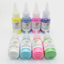 20g/bottle 12 COLORS Laser Mermaid Nail Glitter Powder Pretty Gradient Shimmer Glitters Pigment Nail Powder Dust Laser Nail Art(China)