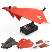 Power Up Electric Paper Plane Airplane Conversion Kit Fashion Educational Toy Z904(China)