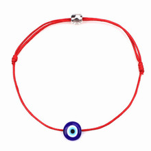 New Simple Red Thread Rope Blue Evil Eye Kabbalah Handmade Friendship Bracelets String Beads For Women Girls Lucky Jewelry Gift