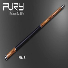 Fury pool cues /African Wxotic  Wood/Pool Stick handed Shaft/Nature SERIES/ 11.75mm&12.75mm tip (optional) NA-6