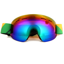 Top Quality UV400 Anti-fog Ski Goggles Double Layers Big Ski Mask Glasses Skiing Men Women Snow Snowboard Goggles(China)