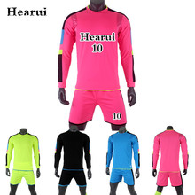 Customize Kids Soccer Jerseys 2017/2018 New Men Young Long Sleeve Blank Soccer Training Suit Football Team Uniforms Sets