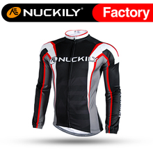 Nuckily Winter Custom Wind Proof Thermal Race Bicycle Winter Cycling Jackets  NJ534-W
