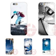 Enjoy Snow Or Die Ski Snowboard Soft TPU Silicon Art Online Cover Case For Apple iPhone 4 4S 5 5C SE 6 6S 7 7S Plus 4.7 5.5