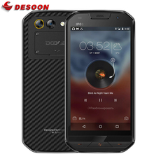 "DOOGEE S30 IP68 Waterproof 8MP Back Dual Cameras Mobile Phone 5580mAh 5.0"" HD Quad Core 2GB+16GB Shockproof 4G Smartphone(China)"