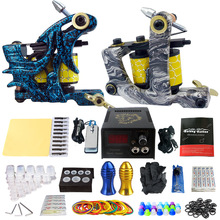 Professional Tattoo Machine Set Liner Shader Guns tattoo kit rotary tattoo Machine Cosmetics Permanent Make Up Tattoo Body ART