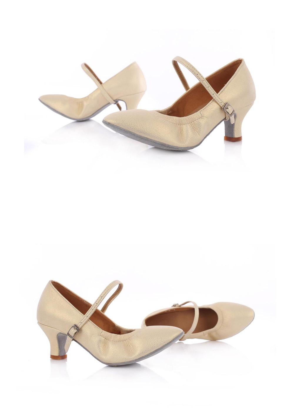 Hot Selling Latin Dancing Shoes For Women Soft Bottom Tango Shoes 57Cm Modern Salsa Dance Shoes Female Ballroom Dancing Shoes (4)
