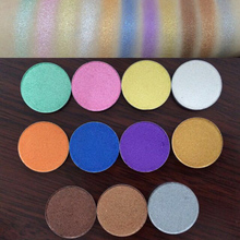 Wholesale 26MM Single Shimmer Eyeshadow For DIY Refill Empty Magnetic Palette With PET Packaging Make Up Cosmetic Glitters