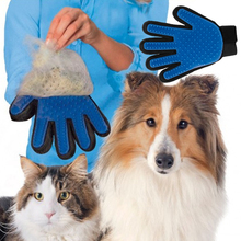Silicone Pet Hair Comb Bath Brush Glove Gentle Efficient Cleaning Bath Massage Pet Grooming Dog Cat Supplies Pet Accessories(China)