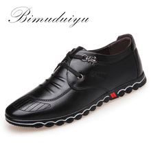 Buy BIMUDUIYU 2018 Spring Fashion New Super Fiber Leather Soft Comfortable Men's Casual Shoes Portable Driving Shoe Laces Flats for $30.30 in AliExpress store