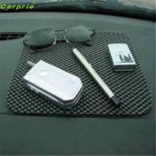 High Quality   19.7*16.5cm Flexible Black Color Car Non Slip Dashboard Mat Key Pads Holder