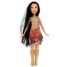 100% Original Princess Royal Shimmer Doll Pocahontas Best Gift for Child New Loose T1001(China)