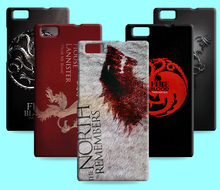 Ice and Fire Cover Relief Shell For Huawei P8 Max Cool Game of Thrones Phone Cases For Huawei Ascend P8 lite 2017