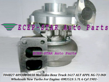 T04B27 409300 409300-5011S 409300-0023 409300-0020 Turbo For Mercedes Benz Truck 1617 ALT APPL NG-73 IND 1981- OM352A 5.7L 6 Cyl(China)