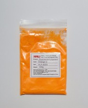 fluorescent powder,fluorescent pigment,Water-based colour paste pigment,item:HLP-8005,color:orange G,1lot=100g,free shipping..