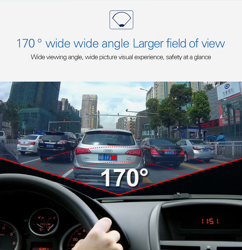 New arrival Anytek A98 Car DVR Camera Recorder Novatek Dash Cam Full HD 1080P 3.0″ LCD G-Sensor Night Vision Car Camcorder DVR