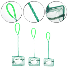 Hot Sale Fish Tank Supplies Round-square Shaped Fish Net Aquarium Fishing Accessories Suitable for Fish Catching Floating Object