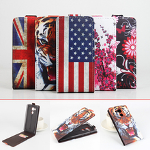 For Huawei Mate 8 case New patterns Fashion protective Flip Flag Tiger Leather Case For Huawei Mate8 Cover