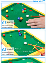 Plastic Mini Billiard Snooker table toy Children Interesting Entertainment Sport Game Intellectual Toys sports balls Kids Gift