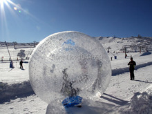 Free shipping !!! 2.5m Dia inflatable body zorb ball,zorb water ball,zorb ball sale(China)