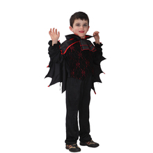 VASHEJIANG Vampire Costume For Children's Day Halloween Costume for Kids Children Costumes for Boys Childrens Fancy Dress(China)