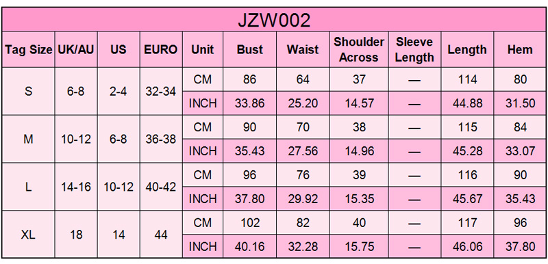 JZW002-SMT-size