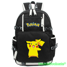 Pikachu Cartable Pokemon Go Backpack Anime Bag Mochila Harajuku Backpacks Rucksack Escolar Laptop Bag School Bags for Teenagers