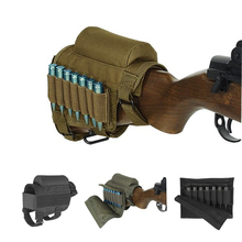 Rifle Cheek Rest with Ammo Carrier Case Holder for .300 .308 Winmag(China)