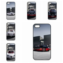 New Car Bugatti Veyron For Apple iPhone 4 4S 5 5C SE 6 6S Plus 4.7 5.5 iPod Touch 4 5 6 hard case