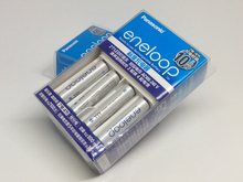 Panasonic Basic Charger + 4PCS Panasonic AAA 750mAh High Performance Ni-MH Battery Pre-charged Rechargeable Batteries