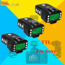 For Sony MI Shoe Camera TTL HSS 1/8000S Flash Trigger Transceivers PIXEL KING PRO x3pcs For A7 A7R A7RII A6300 A65 A77II RX10III(China)