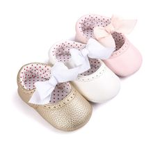 2017 Newborn Baby Moccasin Babies Shoes Soft Bottom PU Leather Princess Toddler Infant First Walkers Boots
