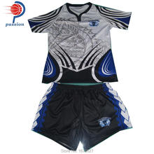 Mens Pro Sublimated Rugby Uniforms With Custom Team Designs FOR SALE(China)