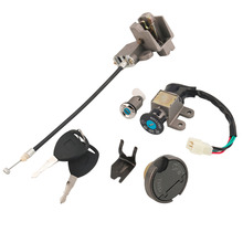 Universal Key Ignition Switch Lock Set Scooter Moped 110 150 250cc 49 50cc For Suzuki(China)