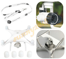 DJI Phantom 4 Camera Lens Sun Hood Cap + Motor guards + Lanyard Neck strap + 3D printed Camera Gimbal Guard Protector