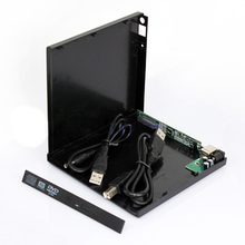 Laptop USB to IDE CD DVD RW ROM External Case Enclosue